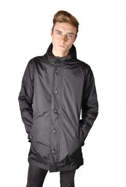 Mens Fishtail Back lightweight Mac With Hood